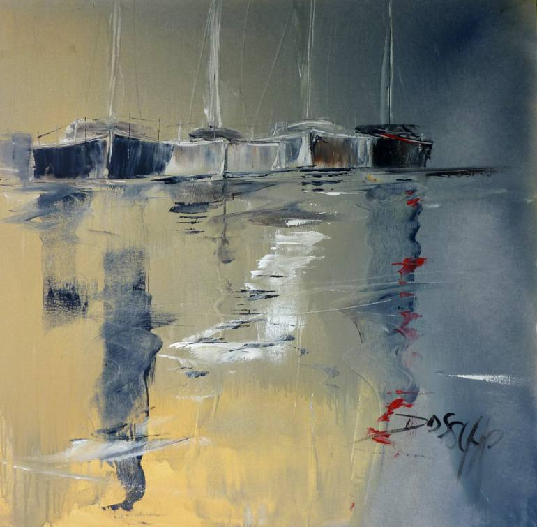 Jean-Luc-Dossche - Painting: Acrylic