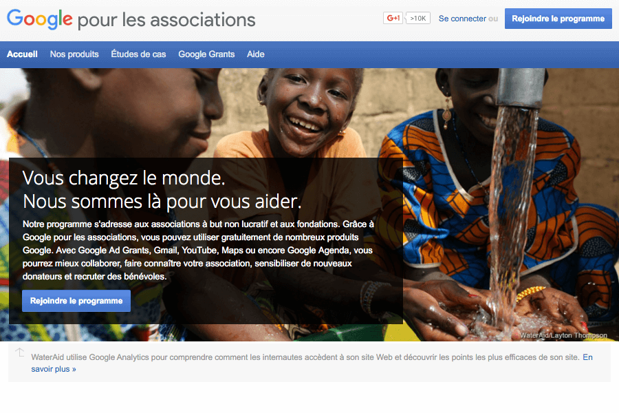 Google pour les associations